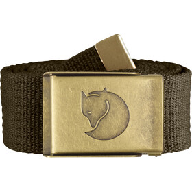 Fjällräven Canvas Brass Belt 4 cm dark olive